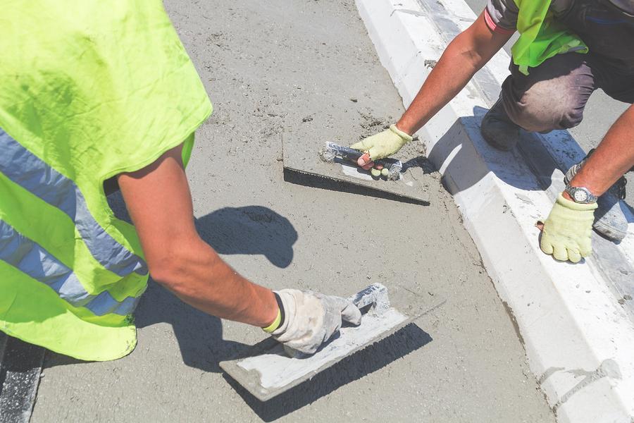professional concrete sidewalks services