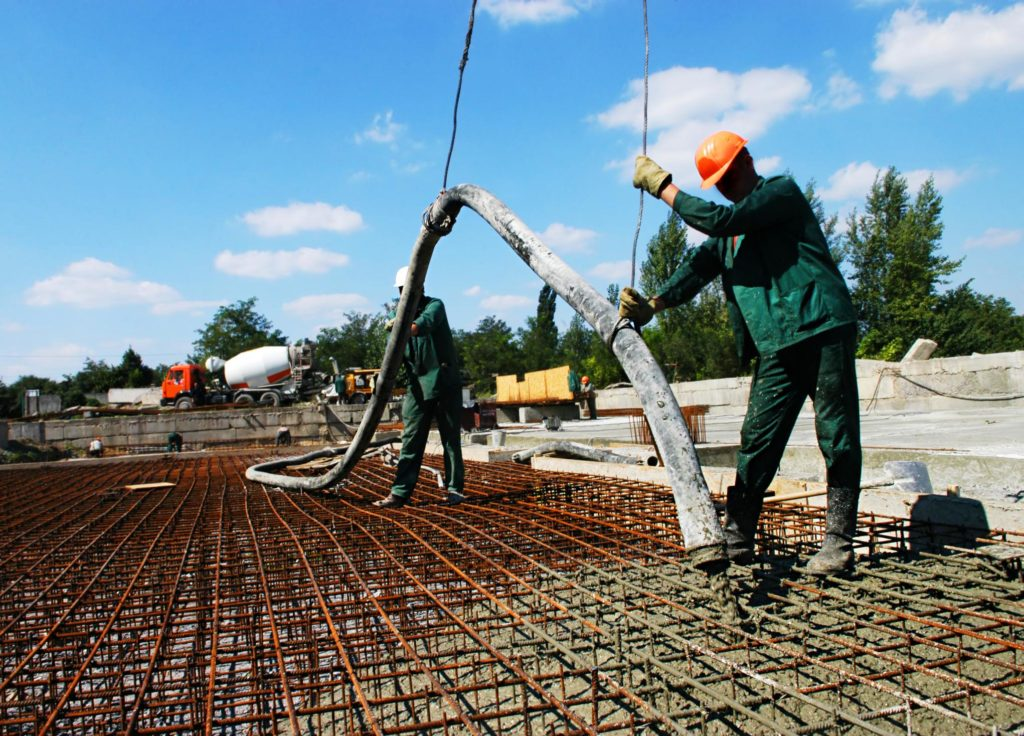 professional concrete slabs service